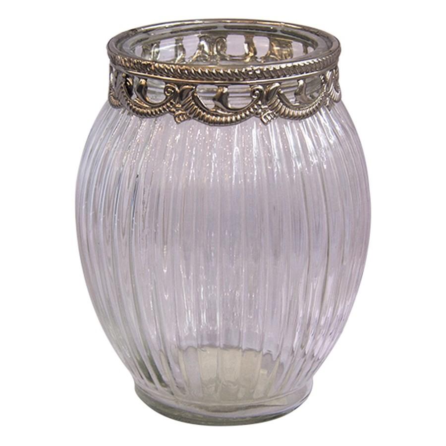 Castiçal de Vidro Decorativo