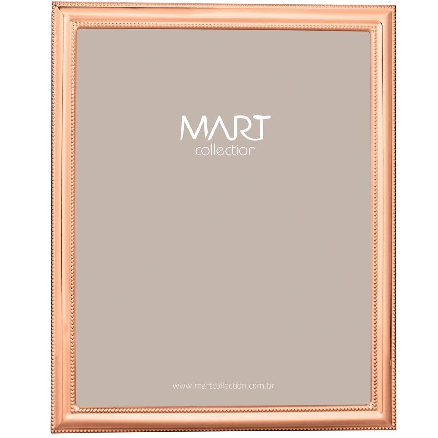 Porta-Retrato Metal Rose Gold III 20x25cm