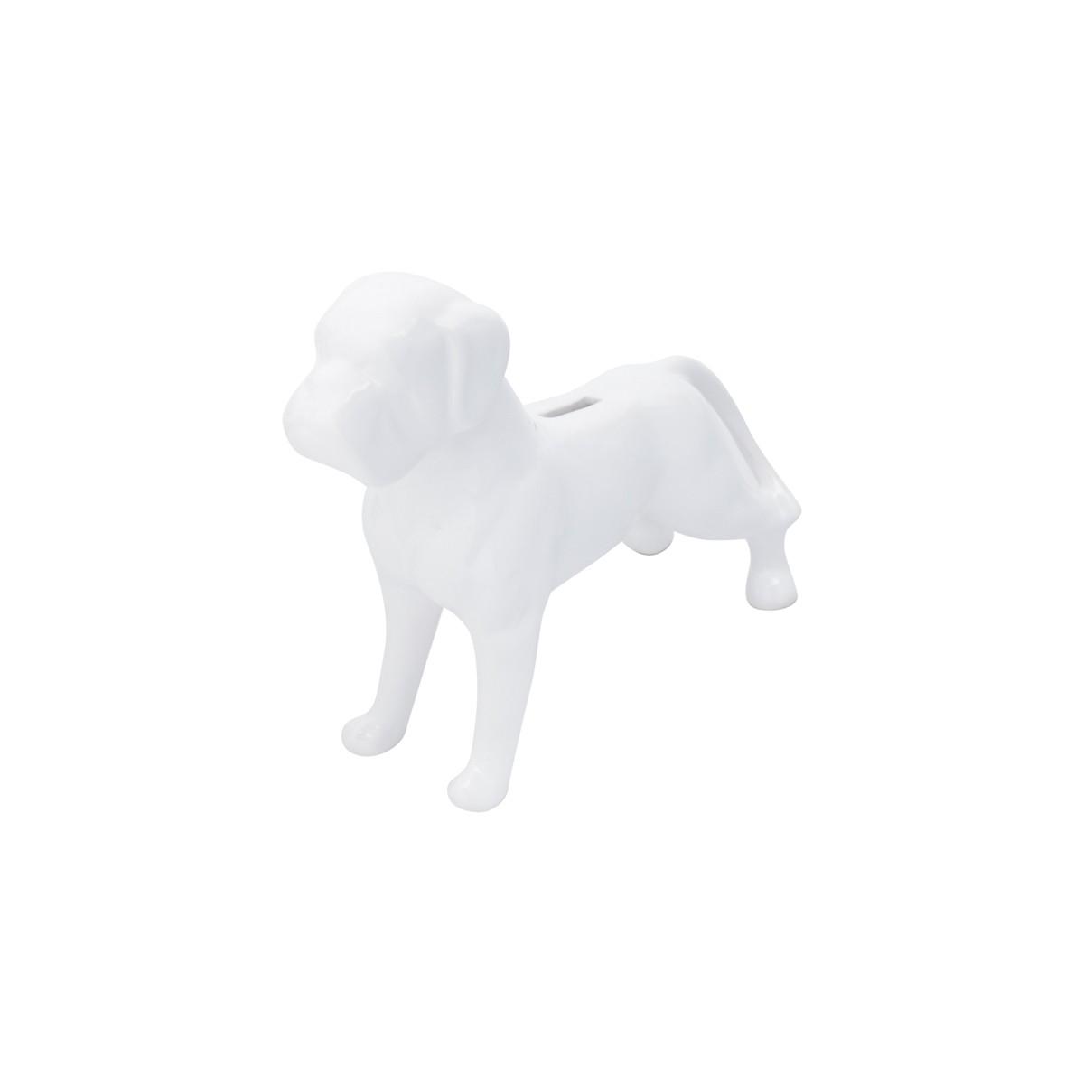 Cofre Cerâmica Boxer Branco 26x23cm