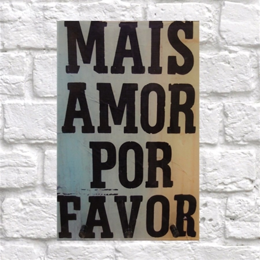 Porta Chaves Mais Amor