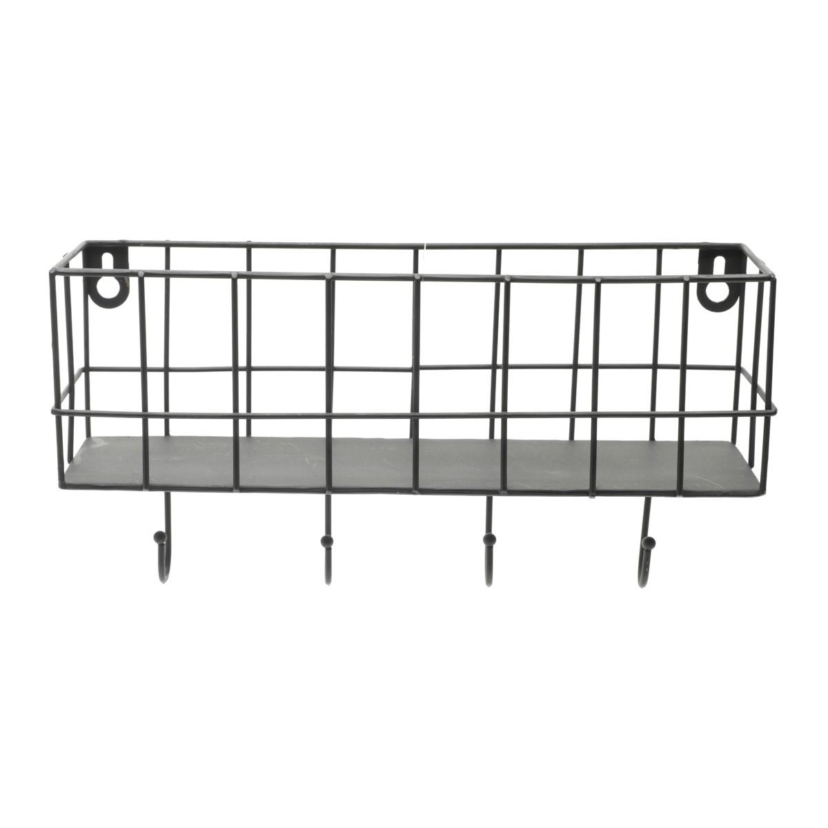 Prateleira Metal Hooks 26x13cm
