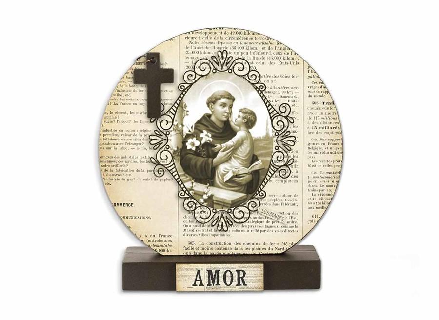Relicário de Mesa Santo Antonio
