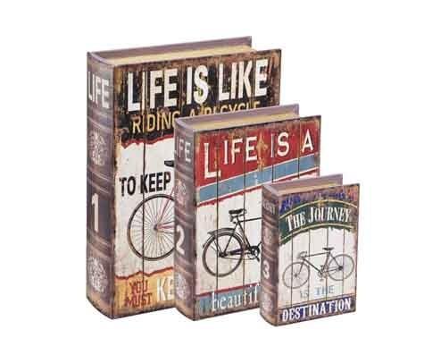 Caixa Livro Life Is