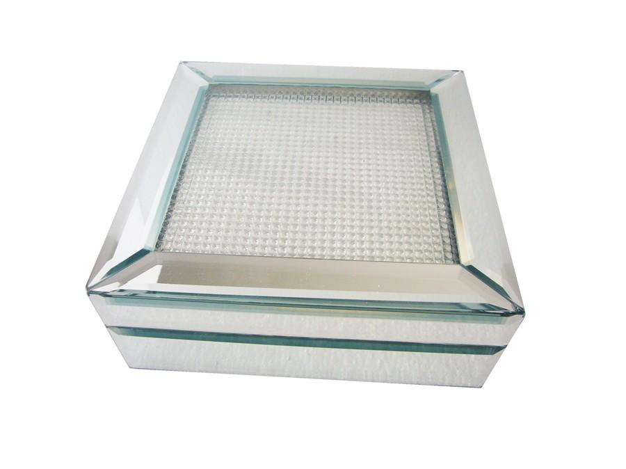 Porta Joias de Espelho Pequeno 15x15x8 cm
