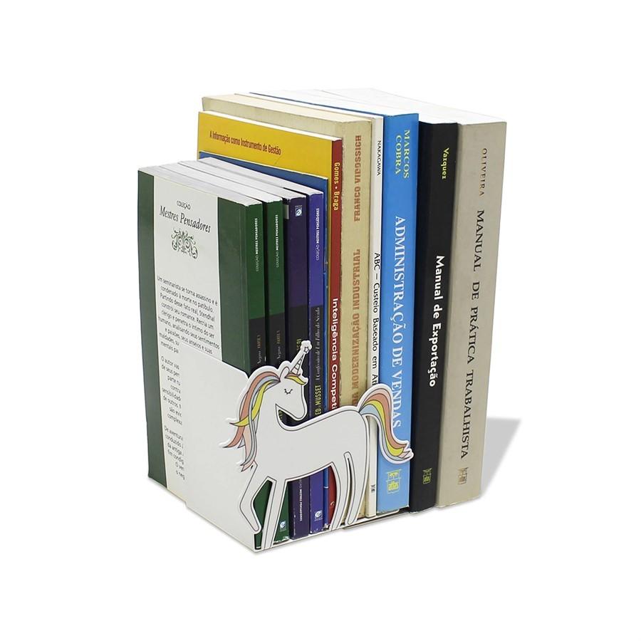 Suporte de livro unicórnio