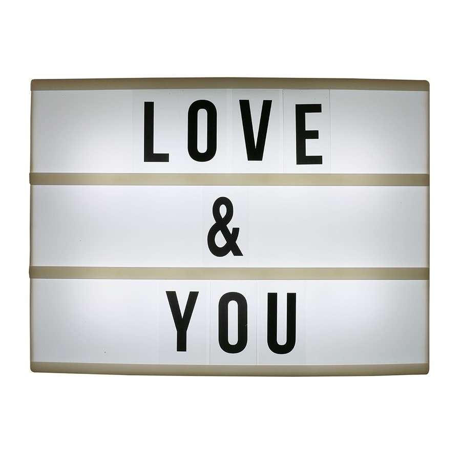 Light Box Led 33cm 20cm