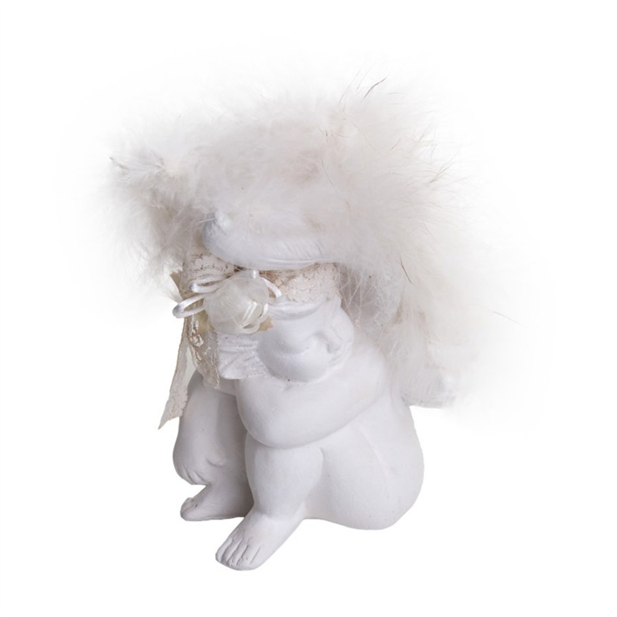 Anjo Porcelana e Plumas