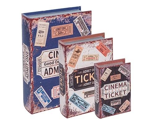 Caixa Livro Ticket
