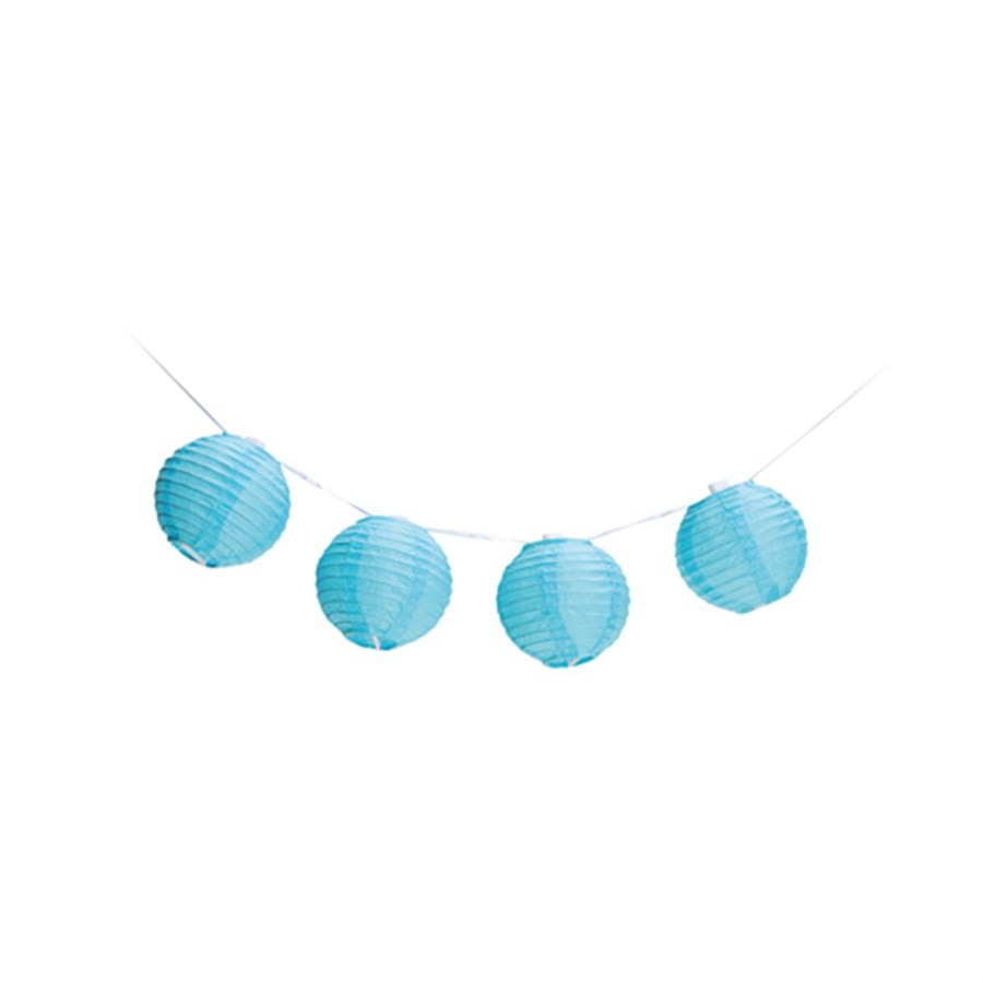 Varalzinho de Globos Azul Decorativo