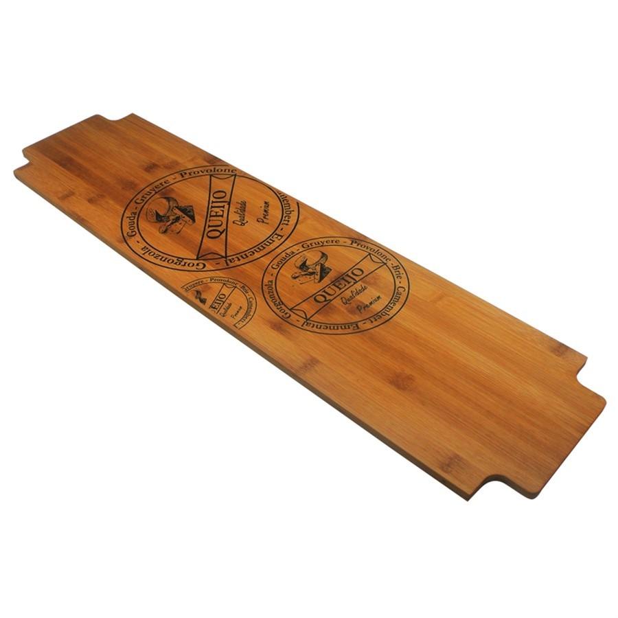 Tábua para Queijos em Bambu 80 CM