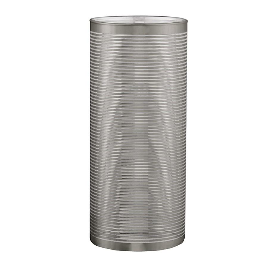 Vaso Prata em Vidro 23 x 10cm