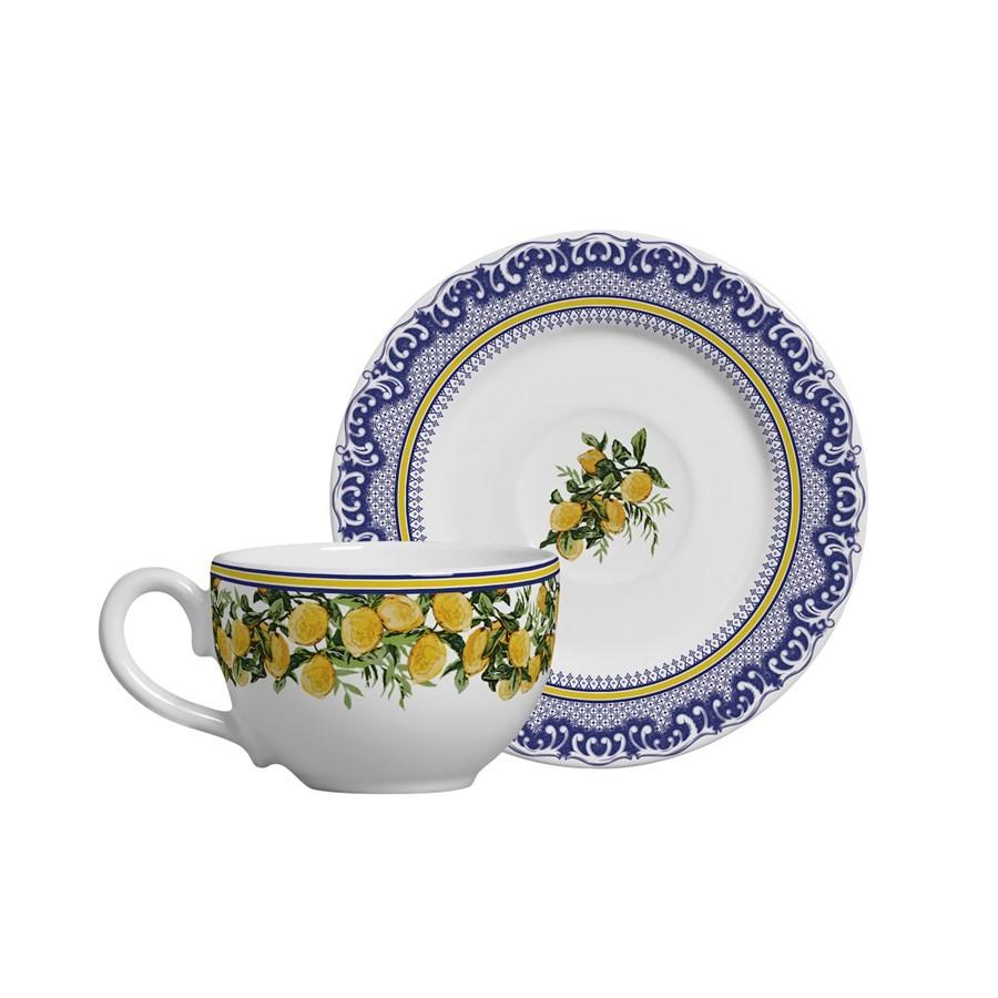 Jogo Xícara de Chá Capri 12pç