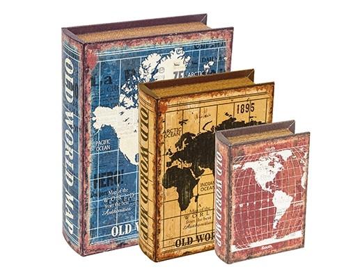 Caixa Livro Mapas