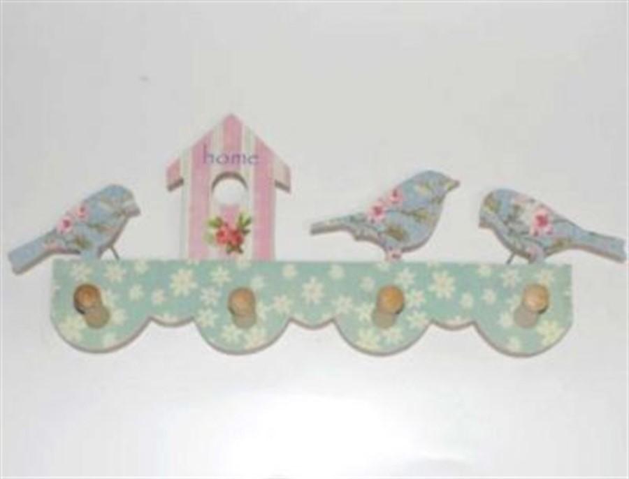 Cabideiro Pássaros Azuis