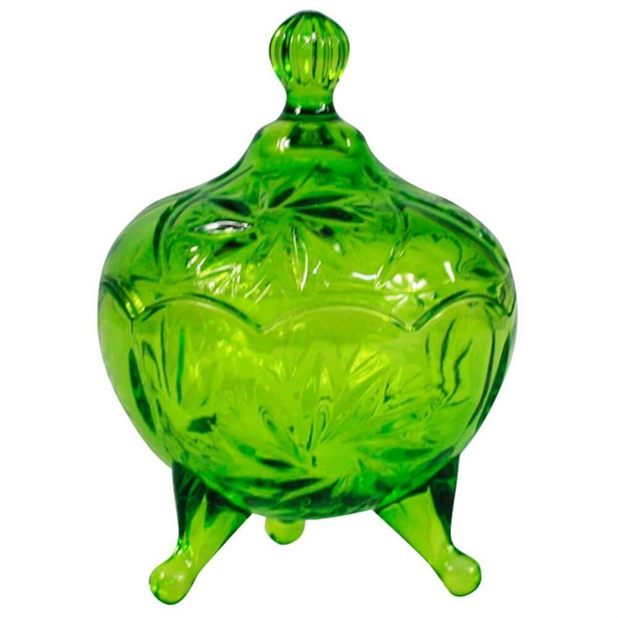 Pote Vidro My Lovely Verde 9x13cm