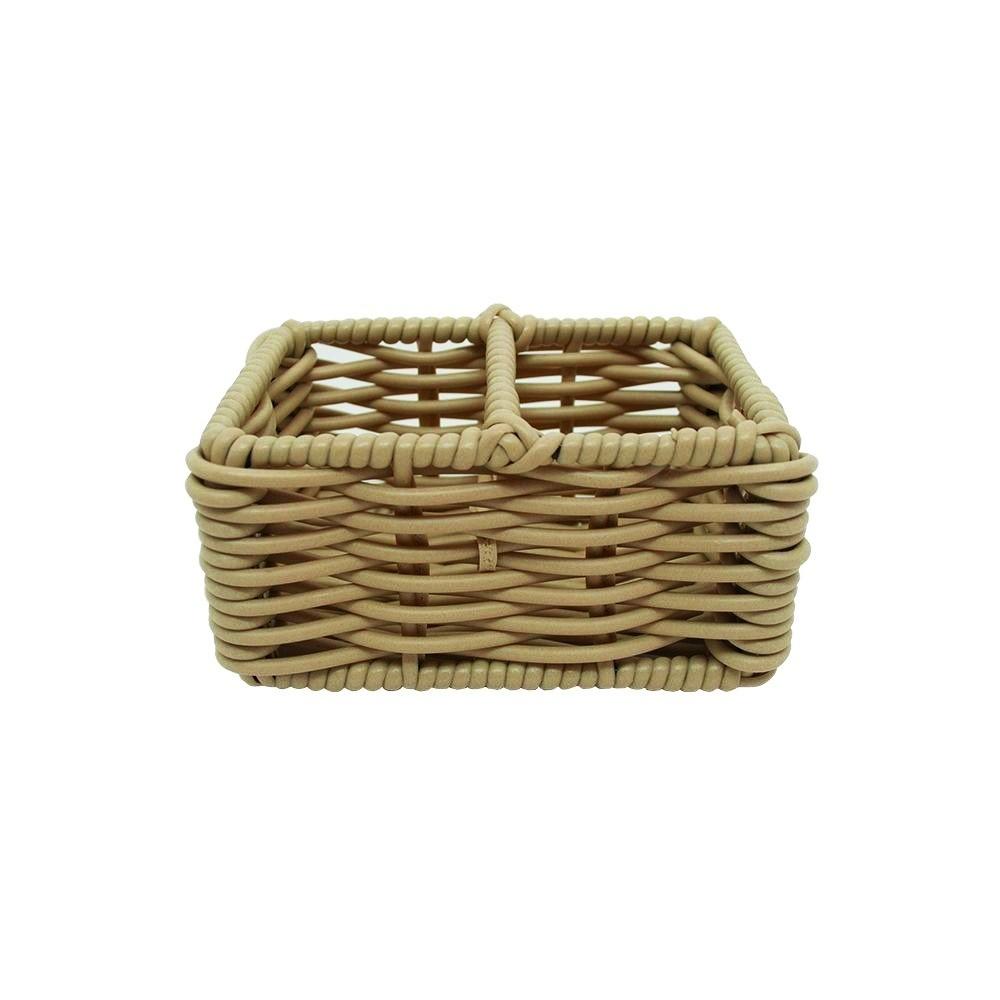 Porta Adoçante Dulpo em bambu com Ferro Caqui