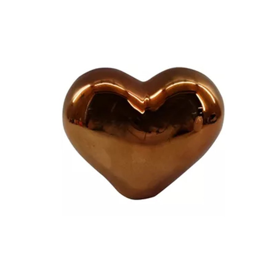 Decor Fancy Heart Cobre