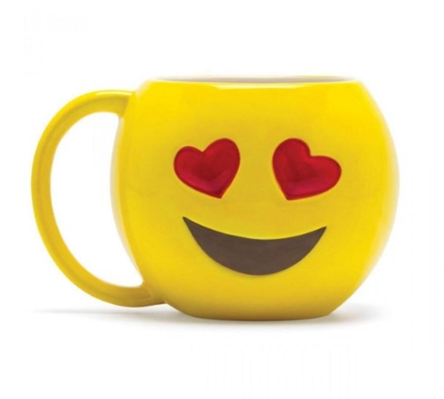 Caneca Emoji Apaixonado 500ml