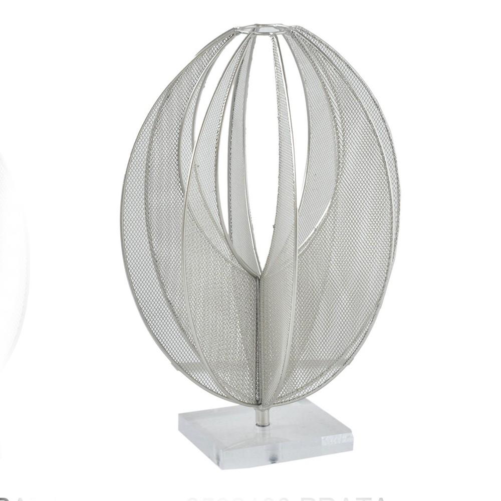 Escultura Metal Tridimensional Oval