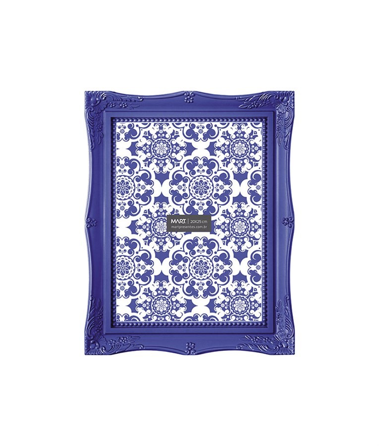 Porta Retrato Azul Escuro 15x20cm