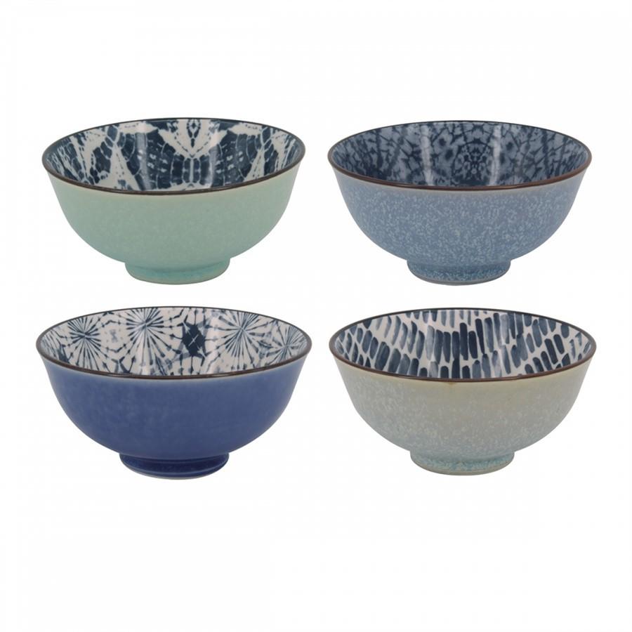 Conjunto Bowls Porcelana - 4 Pçs - Médio