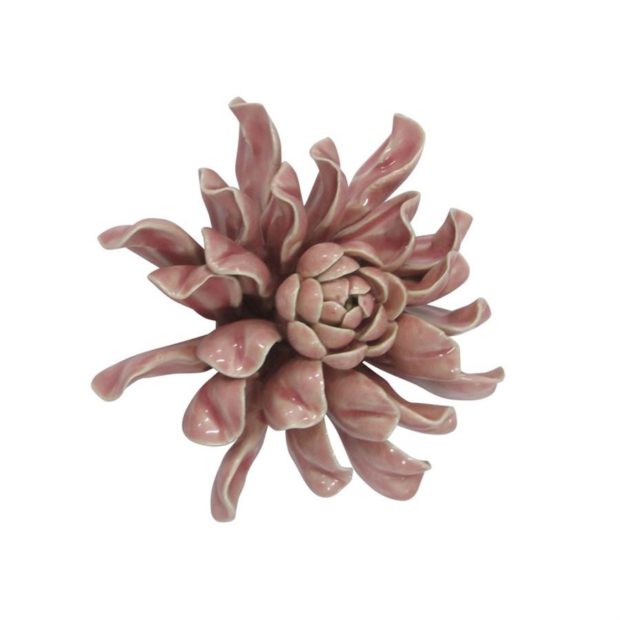 Peça Decorativa de Mesa - Flor Rosa