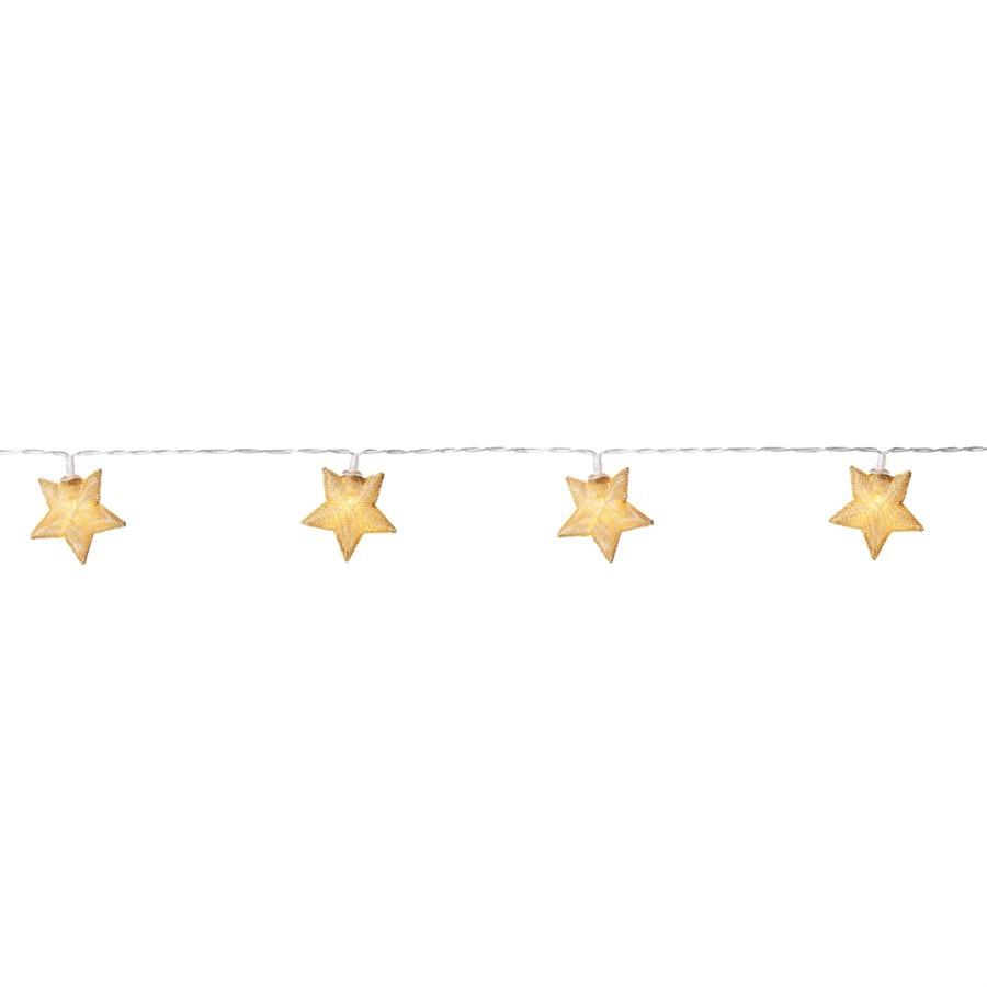 Fio de luz estrela led - 1,6 MT