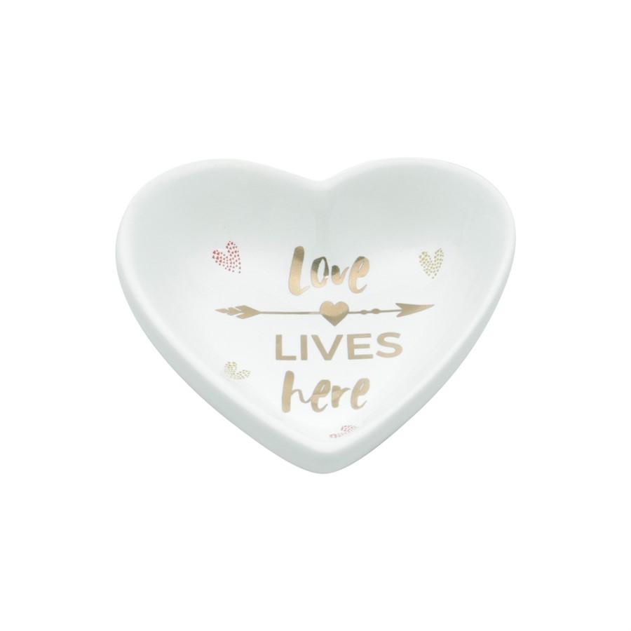 Porta Bijoux Heart Love 9x8cm