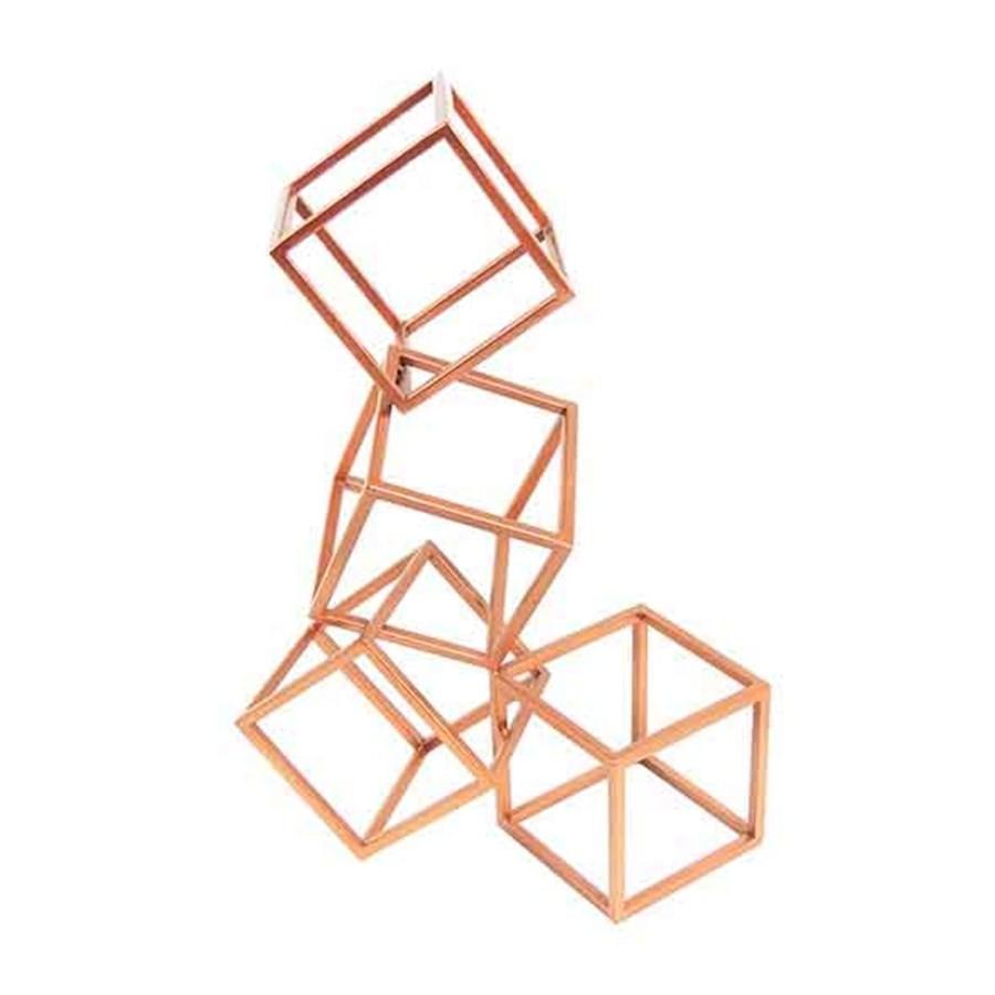Escultura Geométrica 47cm