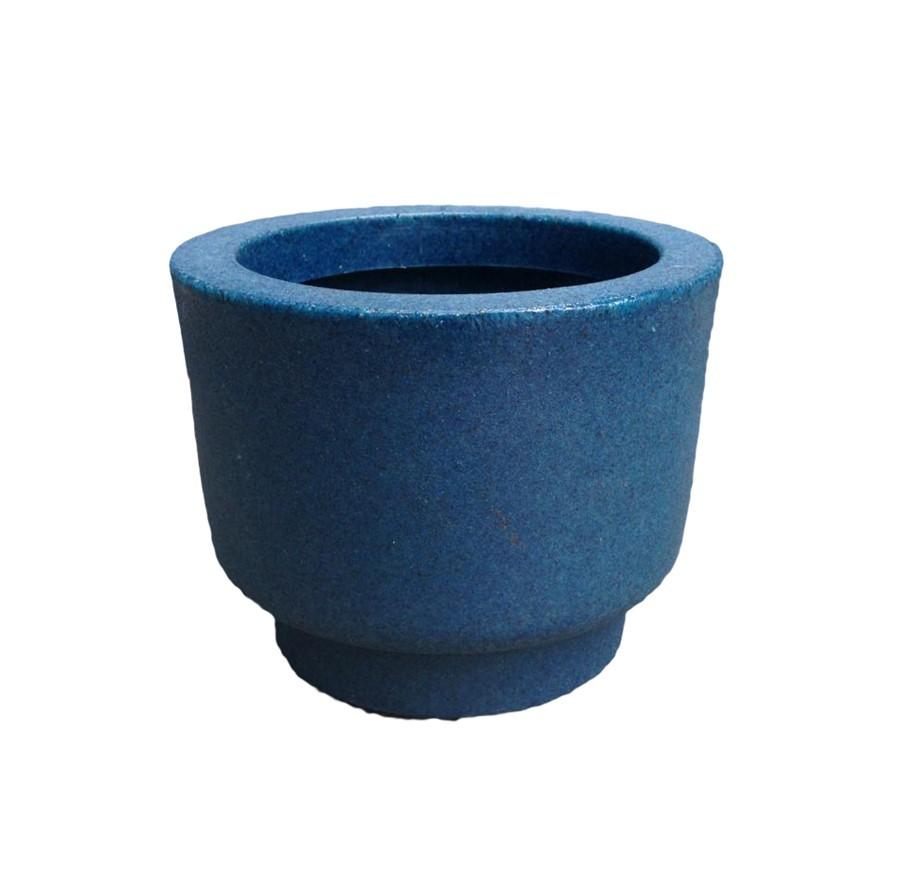 Vaso Cumbuca Azul 12x15cm