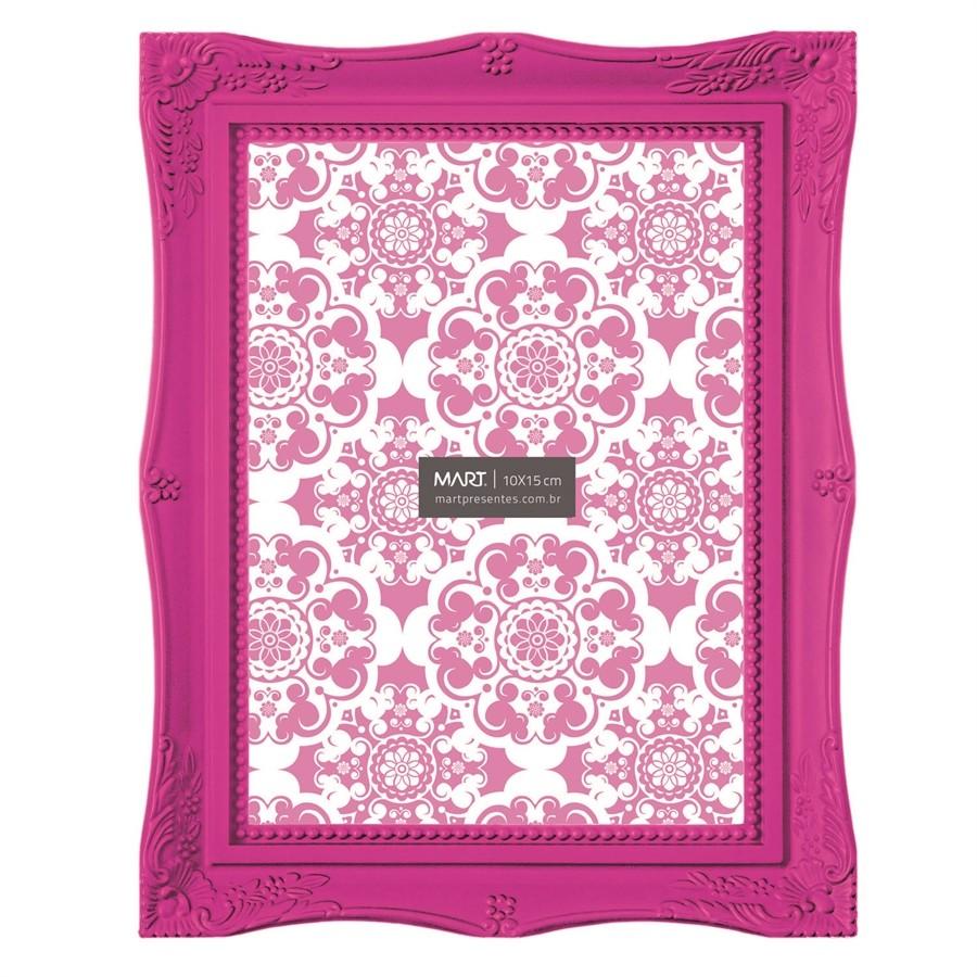 Porta Retrato Rosa 10x15cm