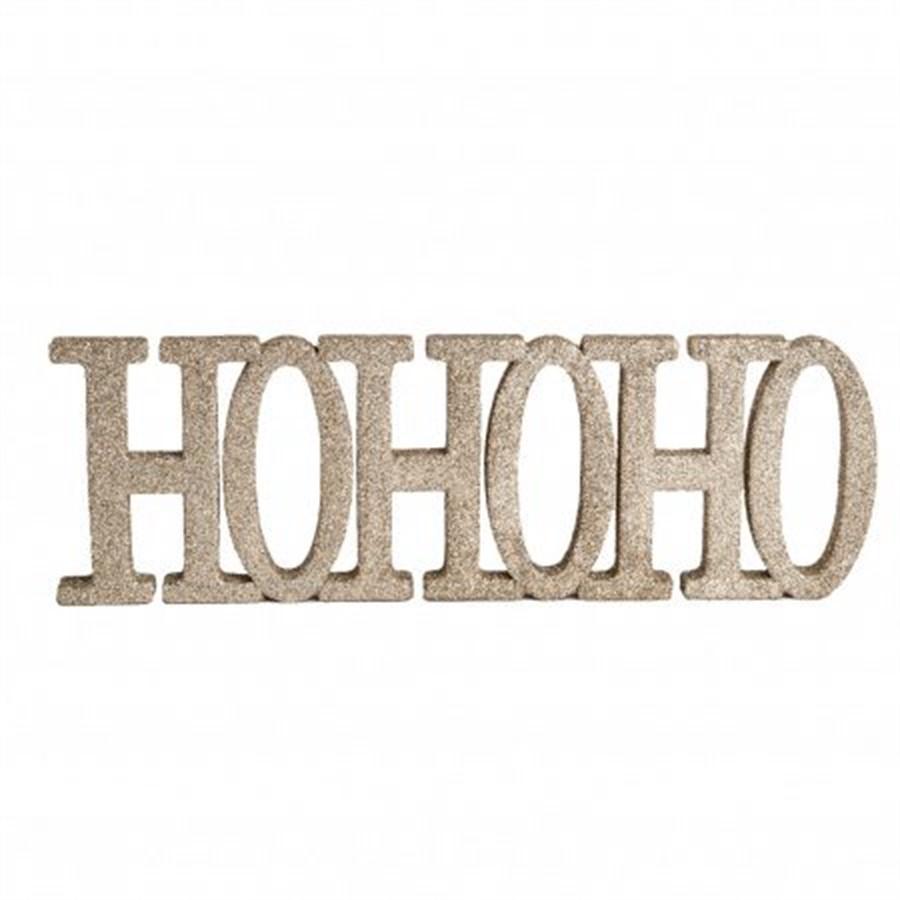 Decor HOHOHO 20cm