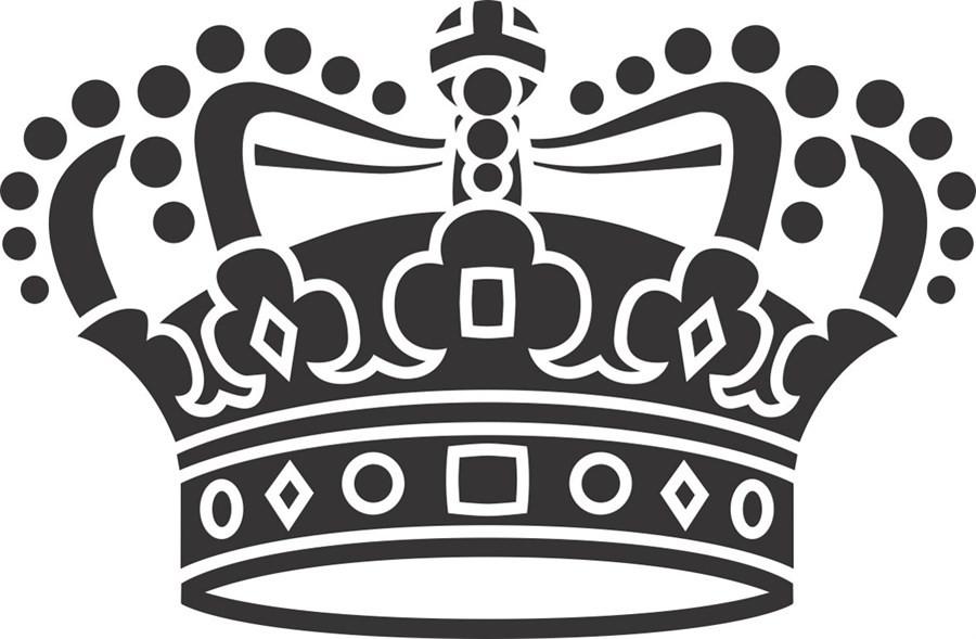 Adesivo Coroa
