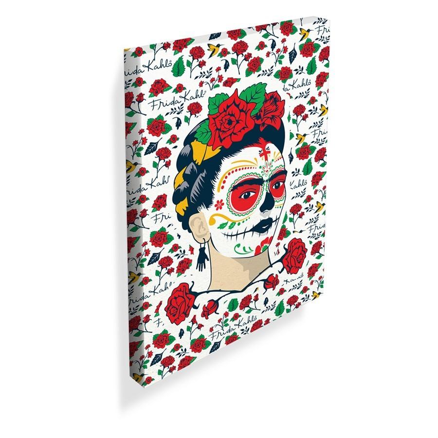 Tela Frida Kahlo Flores