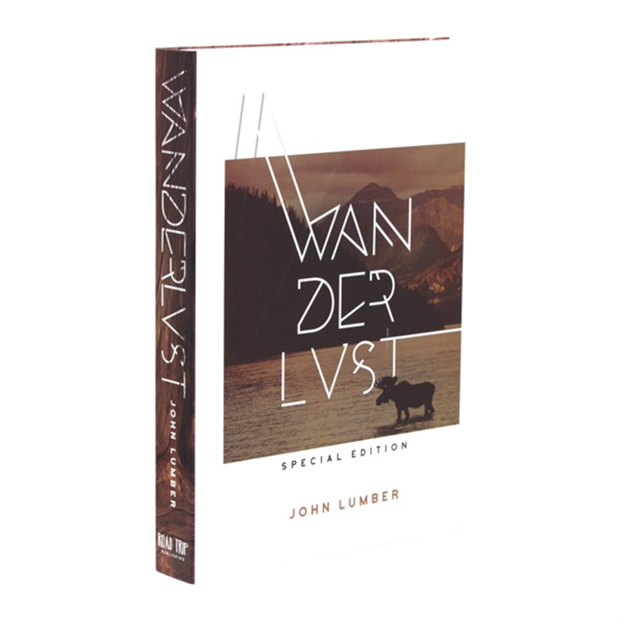 Caixa Livro Wanderlust
