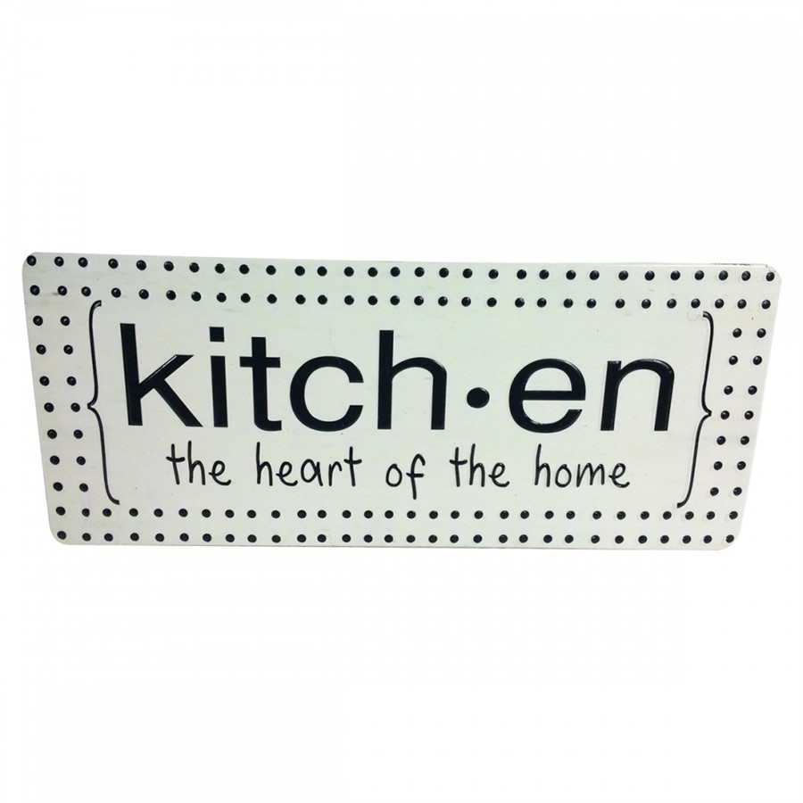 Placa Decorativa Kitchen
