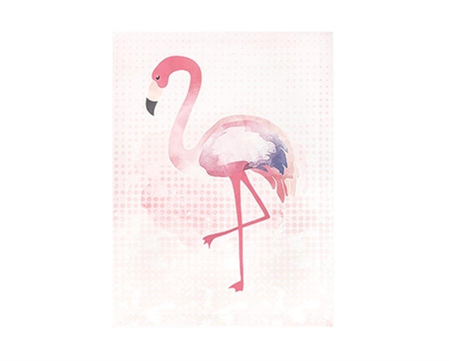 Quadro Canvas Flamingo