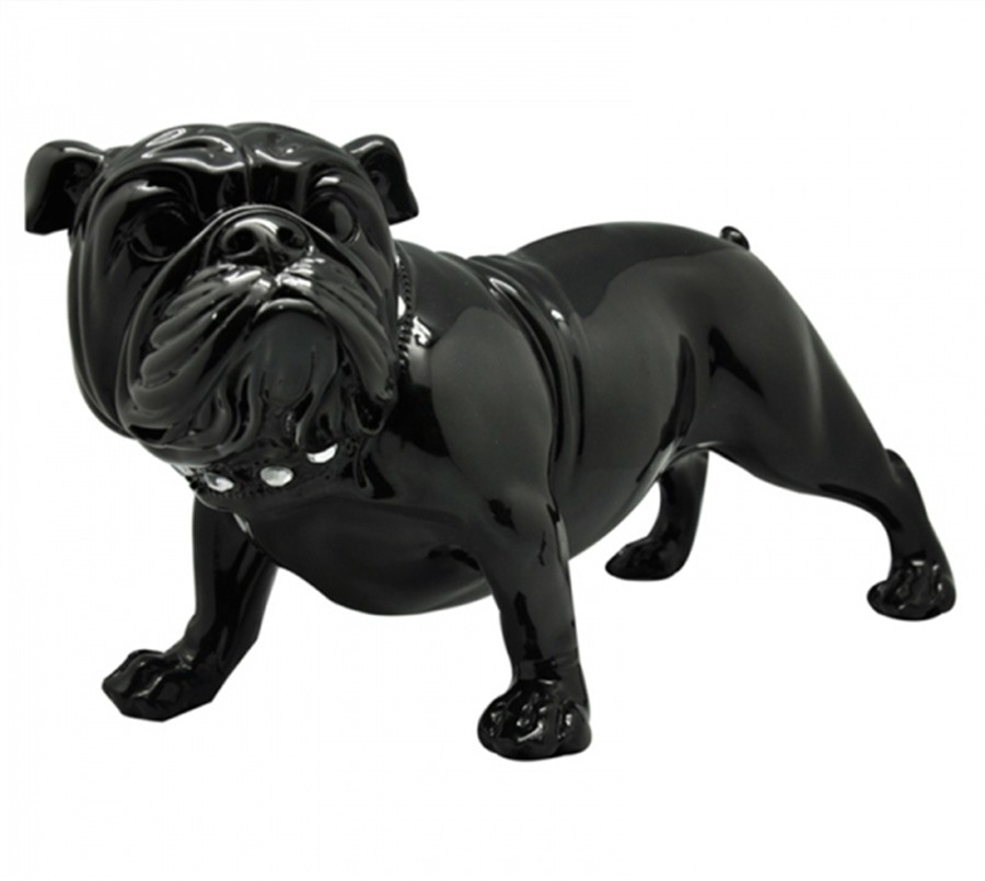 Bulldog Nervous Grande Preto