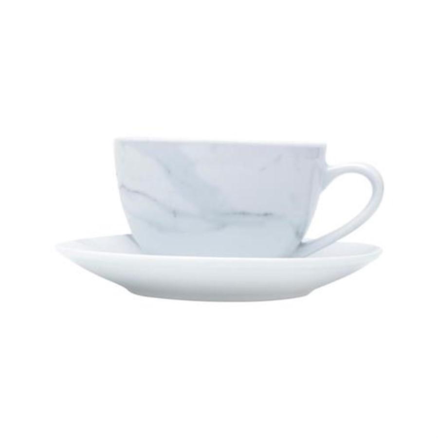 Conjunto Xicaras de Chá C/Pires 6 Pçs
