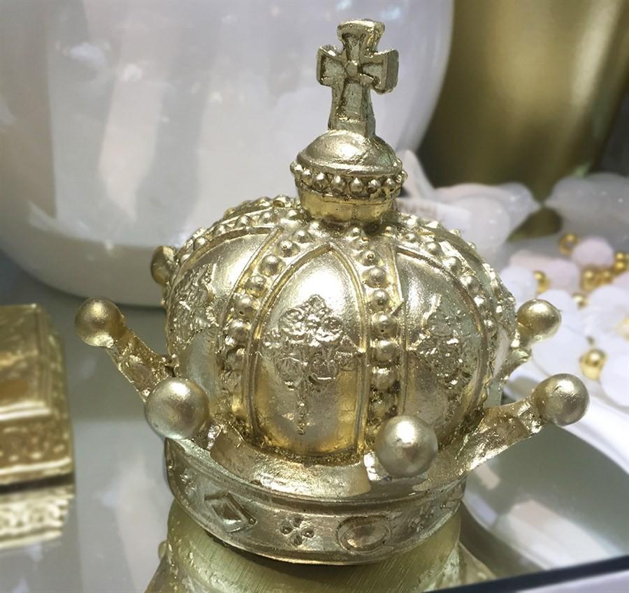 Coroa Ouro Rico com ponta