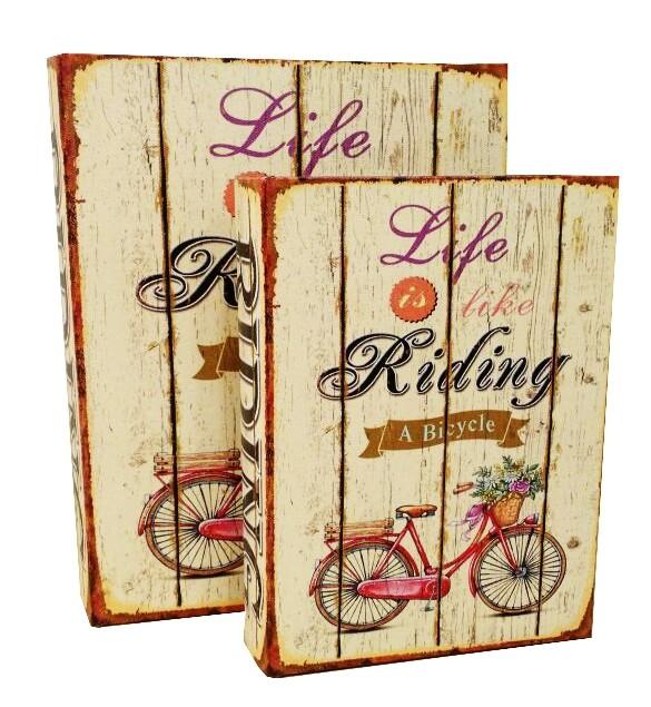 Caixa Livro Riding
