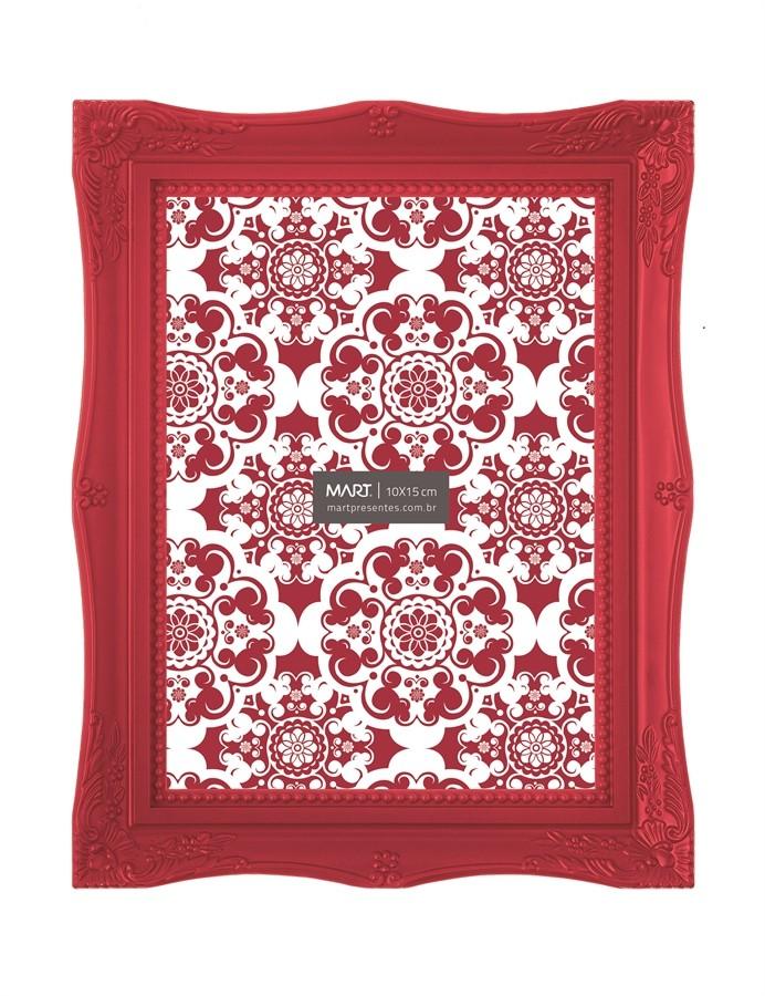 Porta Retrato Vermelho 10x15cm