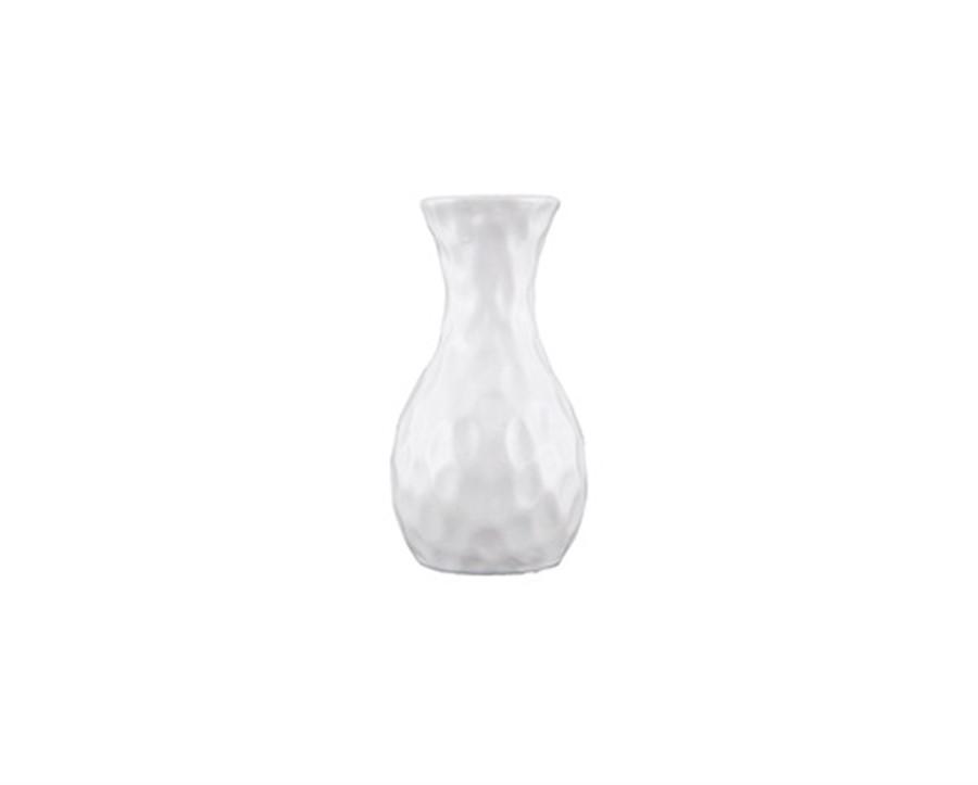 Vaso Branco Cerâmica 10x5CM