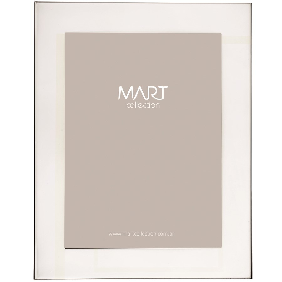 Porta-Retrato Metal Prata I 10x15cm