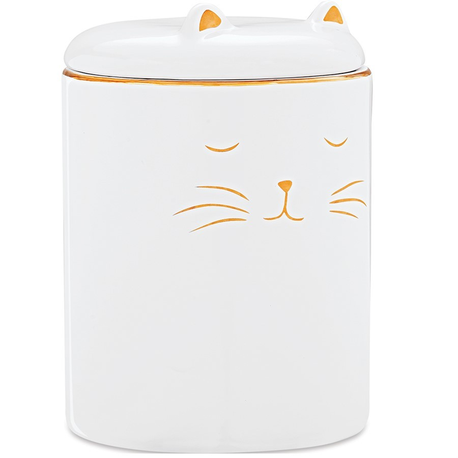 Pote Gato em Cerâmica 14x10