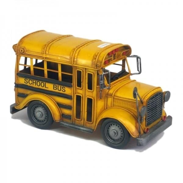 Ônibus Escolar Decorativo