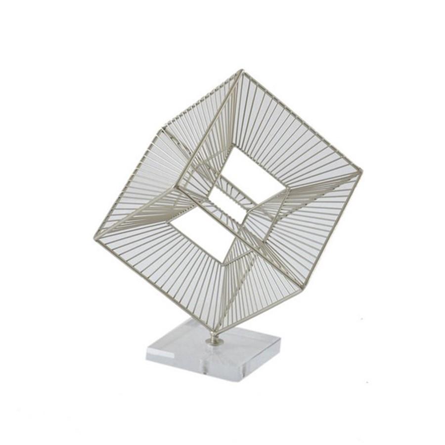 Escultura Metal Tridimensional