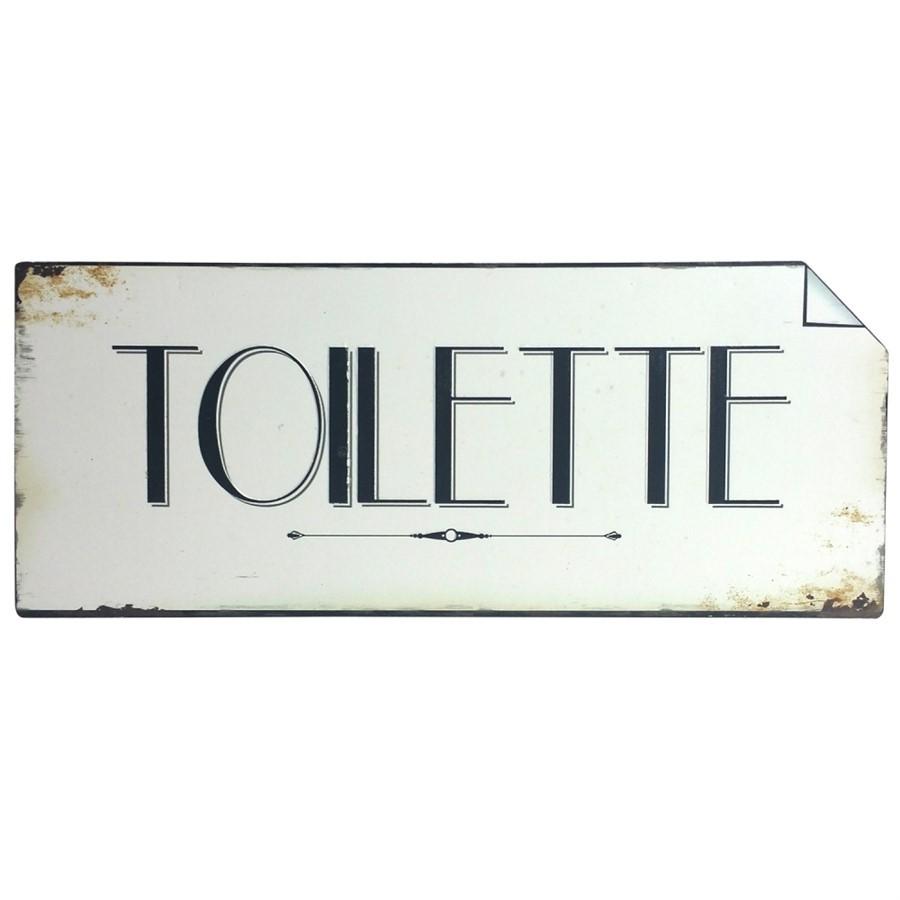 Placa Ferro Toilette