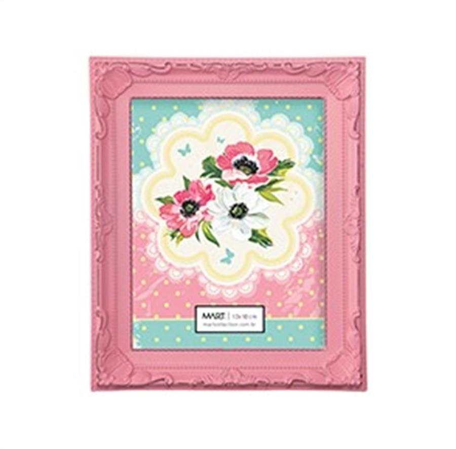 Porta Retrato Candy Rosa 13x18cm