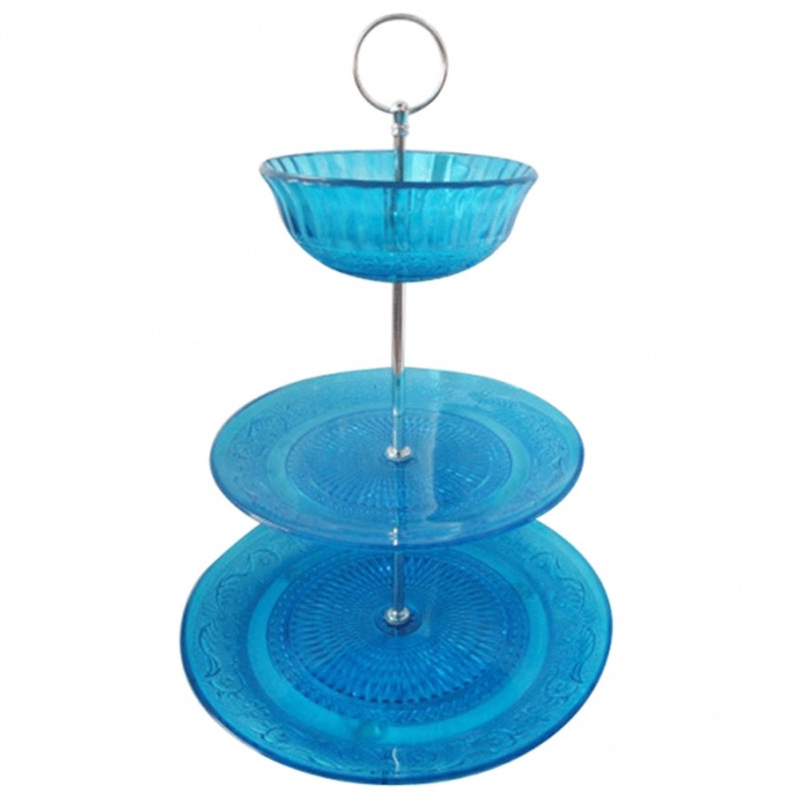 Prato Glass Bowl Azul